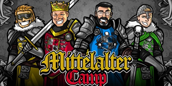 Mittelaltercamp 2021 - ALL INFO ABOUT THE STREAM EVENT WITH KNOSSI, SIDO & CO.