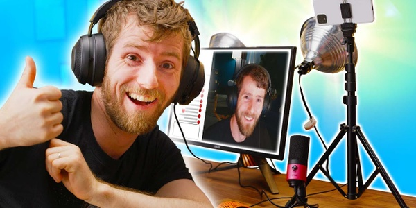 Linus Tech Tips feat. OWN3D - the most famous Tech-YouTuber presents streaming setup