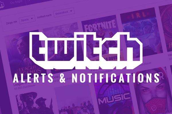 Descubra alertas da Twitch e sobreposições gratuitas na OWN3D!