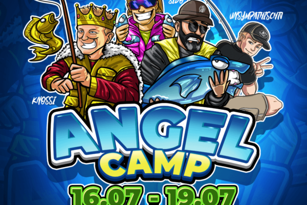 Twitch goes Angelcamp – Knossi and Sido are hosting the Streaming-Main-Event of the year
