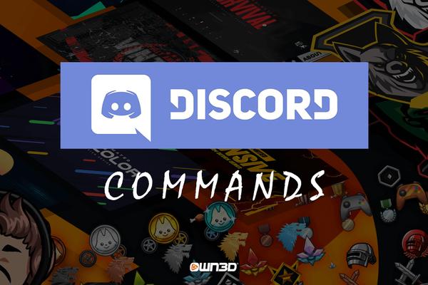 Comandos de Discord - ¡Estos son los comandos de Discord que deberías saber!