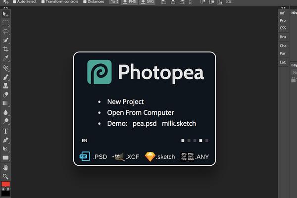 OWN3D Overlays anpassen - Photopea