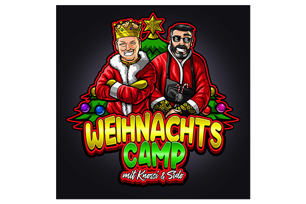 Weihnachtscamp 2020 - All information about the unique event with Knossi, Sido and Co.