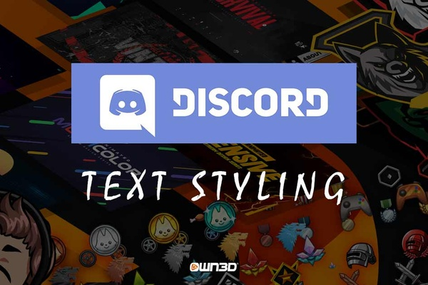 Discord Text Styling - How it works!
